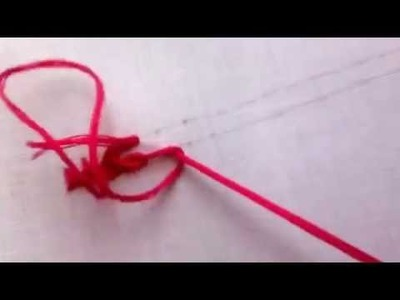 Hand Embroidery: How to do Twisted Chainstitch