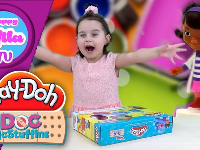 HappyMilaTV #85 | How To Sculpt Play-Doh Doc Mcstuffins Doc's Clinic