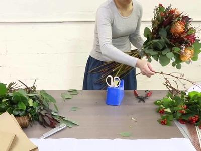 How to arrange Native Flower Bouquet