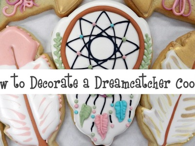 How to Decorate a Dreamcatcher Cookie