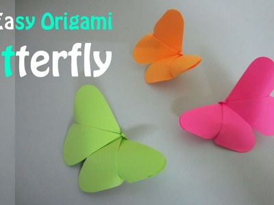 How To Fold Butterflies - Origami Tutorial ✔