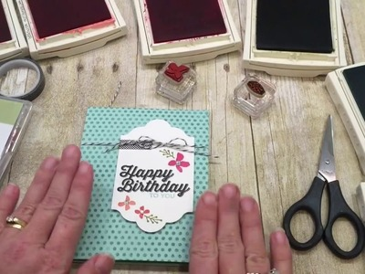 How to make a Bright and Happy Birthday Card!