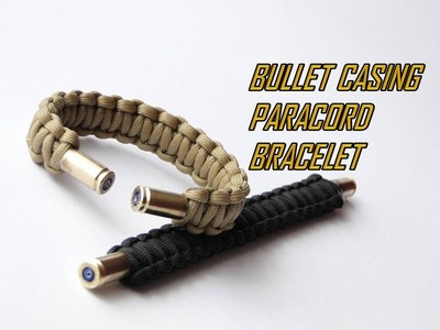 How to Make a Bullet Casing Paracord Bracelet- Cobra Weave Version