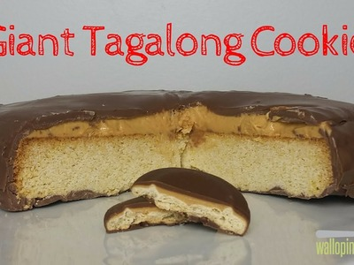 How To Make a Giant Tagalong Cookie