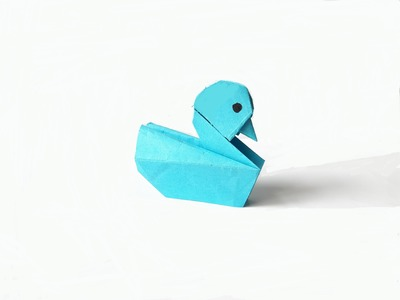 How to make a Paper duck? (easy origami)