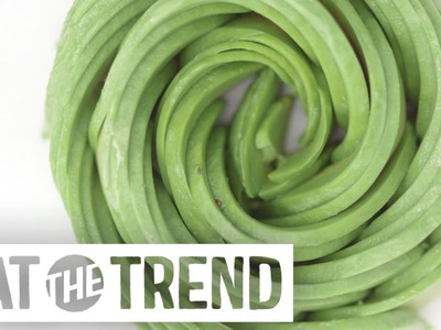 How to Make An Avocado Rose | Eat the Trend