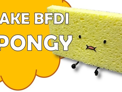 How To Make Spongy of Battle For Dream Island BFDI