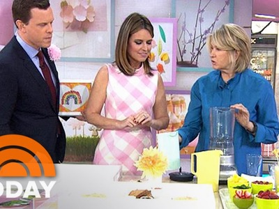 Martha Stewart Shows How To Make DIY Gifts For Mother's Day | TODAY