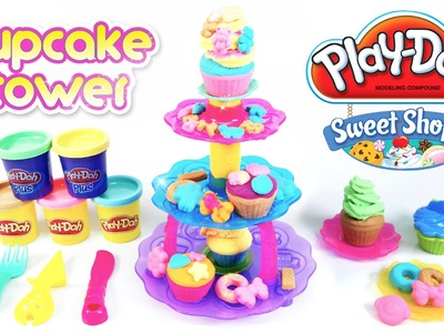 Play-Doh Cupcake Tower Sweet Shoppe