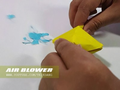 How to make an Origami for Kids - Simple  paper blower that Blows your mind | Air Blower