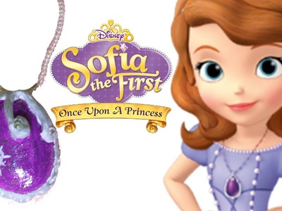 How to Make Sofia the First Amulet of Avalor | Boyaboya