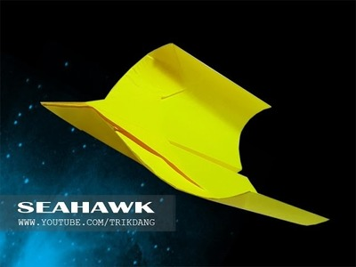 Paper Airplane Instructions: How to make a BOOMERANG paper airplane that Flies Back | Seahawk