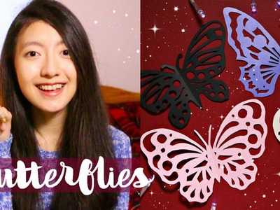 Paper Cutting Art Butterflies | Jessie