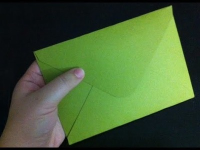 Paper Envelope || Easy ORIGAMI Envelope
