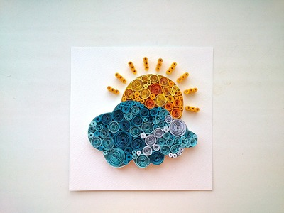 Paper Quilling Ideas:Quilling Pictures. DIY Room Decor, DIY Crafts for Home Decoration With Quilling