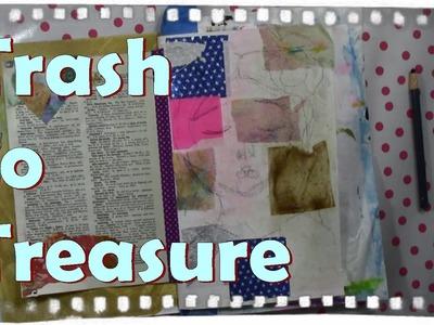 Recycle paper to collage Paper arts, Art journaling ideas, CAC #TrashToTreasure . Ayala Art