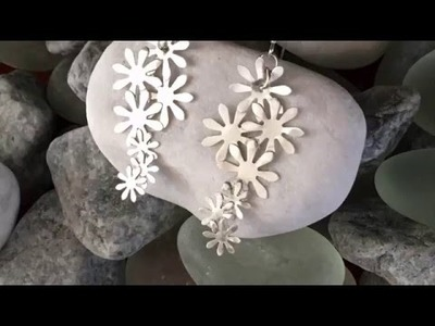 Silver Art Clay Paper Earrings Tutorial