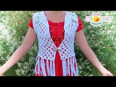 Classic Granny Square Vest - Crochet Pattern (Festival Fashion)