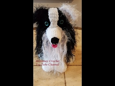 Crochet Border Collie Amigurumi Dog Part 1 of 3 DIY Tutorial