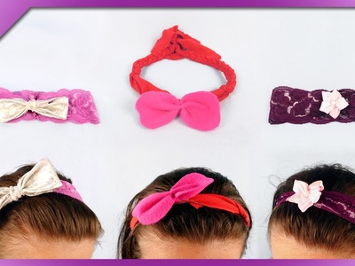 DIY 3 ideas for headband (ENG Subtitles) - Speed up #225