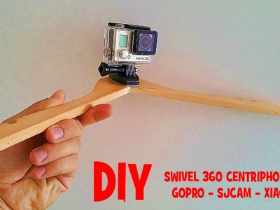 DIY 360 SWIVEL CENTRIPHONE GOPRO 4k - How to make it