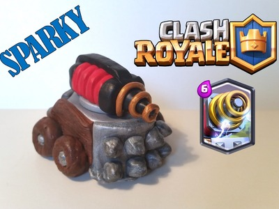 DIY Clash Royale Sparky - Polymer clay tutorial