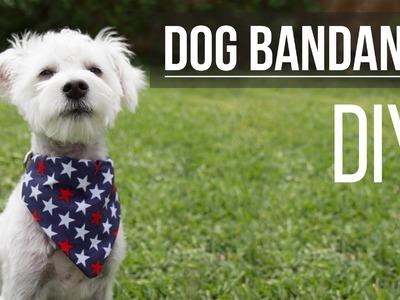 DIY Dog Bandana. Bandana de Mascota