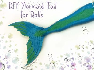 DIY Doll Mermaid Tail