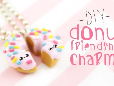 ♡ DIY  Donut Friendship Necklaces ♡    Kawaii Friday