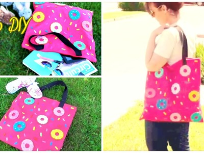 DIY Donuts bag no sew - Isa ❤️