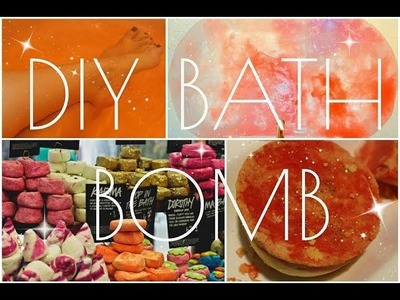 DIY How To Make A LUSH Glitter Bath Bomb At Home!!