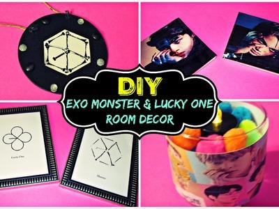 DIY KPOP EXO ROOM DECOR.Monster & Lucky One Comeback Edition