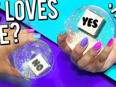 "DIY ""MAGIC 8 BALL"" - Ask the MAGIC Ball!"