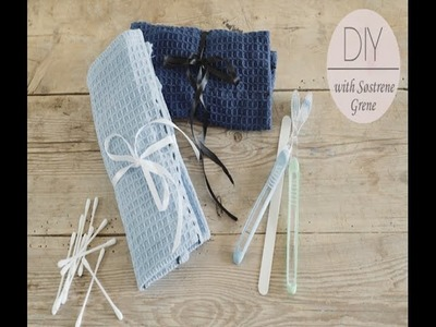 DIY: Make your own toiletry bag by Søstrene Grene