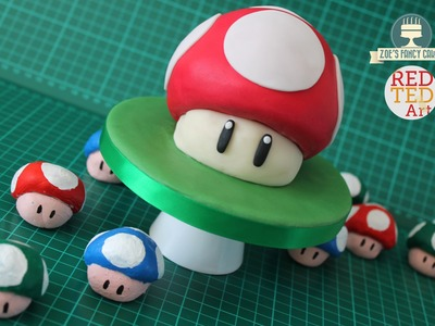 DIY Mario Bros. Ornaments (Salt Dough Recipe) collab with  Zoe's Fancy Cakes