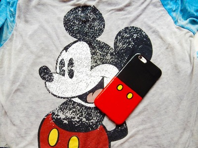 DIY Mickey Mouse Phone Case
