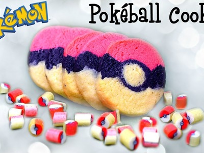 DIY Pokeball Sugar Cookies Inspired by Candy Labs' Handmade Candy. DIY Pokemon Log Sugar Cookies