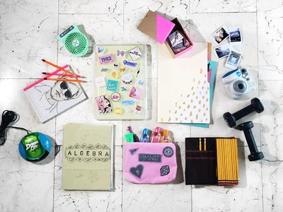 DIY SCHOOL SUPPLIES + MY BIGGEST GIVEAWAY!! (CLOSED)