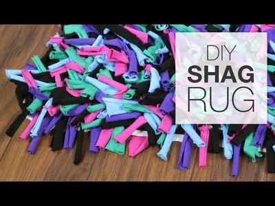 DIY Shag Rug Tutorial