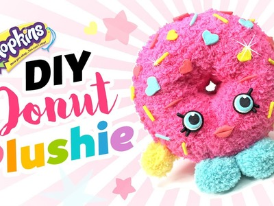 DIY Shopkins Toy Donut Plushie!! Easy & Cute Shopkins Sock Toy!