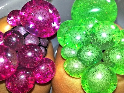 DIY Squishy Balloons with Glitter