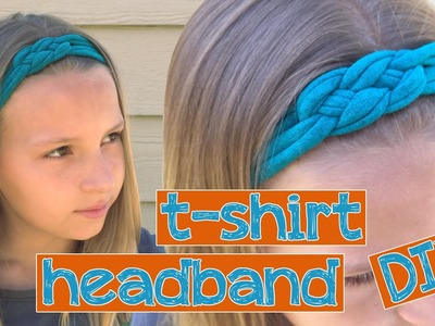 DIY t-shirt headbands - make your own! || Kinsey Creates