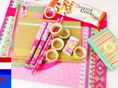 DIY thema van de week: back to school haul | DEEL 1 | tutorial - do it yourself