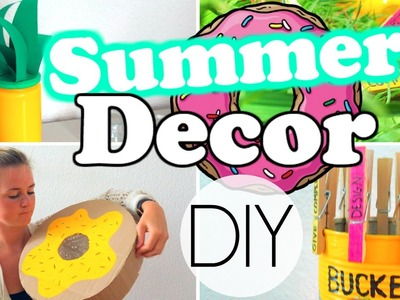 Easy & Affordable DIY Summer Room Decorations!