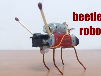 How to make simple insect robot | DIY