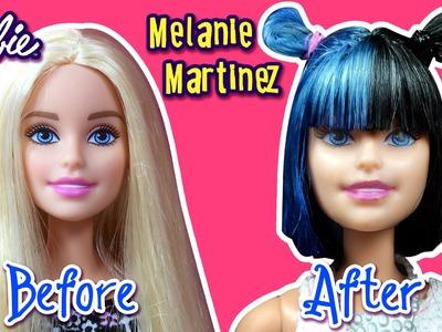Melanie Martinez Hair Tutorial for Barbie Doll - Barbie Haircut Tutorial - DIY - Making Kids Toys