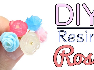 NO MOLD DIY Resin Crystal Rose Tutorial