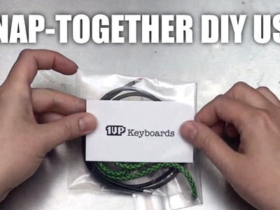 No-Solder DIY USB cable kit from 1upkeyboards.com