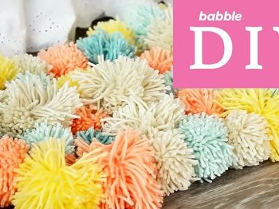 Pom Pom Rug | Babble DIY
