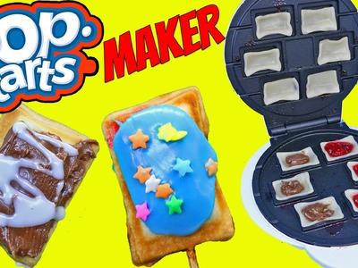 POP TARTS MAKER DIY Pop Tart Recipe Mini Dessert Pie Pastries Chocolate & Berry by DisneyCarToys